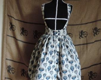 "Suspenders skirt ""Nacelles"", steampunk, lolita"