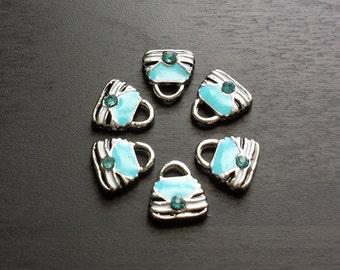 Purse Floating Charm For Floating Lockets-Handbag Charm-Gift idea for Women