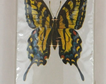 Vintage playing cards, butterfly cards