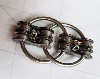 CHAINED: Limited Run; Bike Chain Fidget Restless Hand Toy, Hand Exerciser