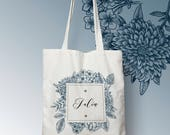 W115Y wedding bag, custom tote bag, sac fourre-tout, sac à langer, sac evjf, tote bag evjf, sac courses, sac en coton