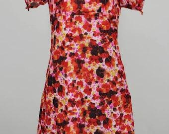 Floral 1950s Summer Dress