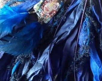 """Creoles peregrines inspiration Berber Women """"Where the wind blows ..."""" (midnight blue, navy, egyptian, klein)"""