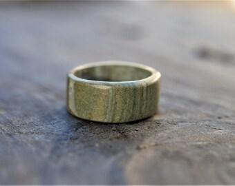 Stone Ring Band