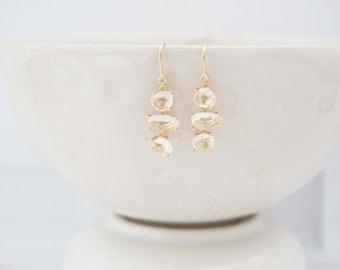 Delicate Crystal Gem Earrings | Bridesmaid Earrings | Wedding Earrings