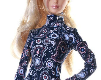 Handmade clothes for Barbie (sweater): Nota