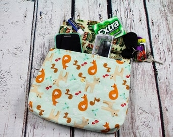 baby carrier pouch - baby carrier bag - animals baby carrier pocket - baby carrier accessories - baby wearing hip pouch - waistband pouch