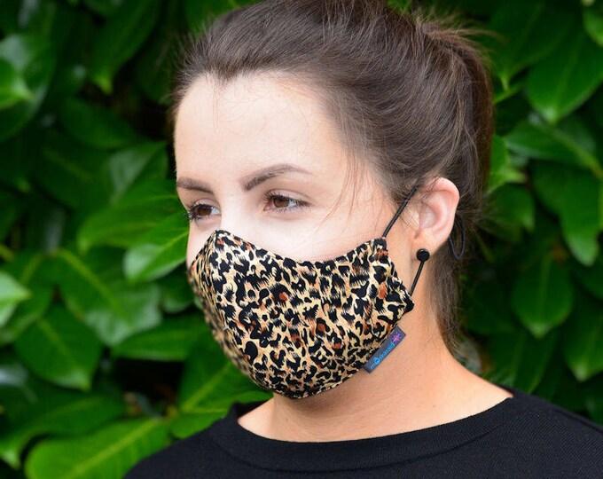 MASKERAID Animal Print Reusable Cotton Face Mask