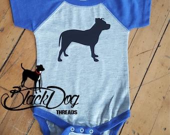 Pit Bull Shirt, Pitbull Shirt, Pit Bull Onesie, Cute Dog Shirt, Dog Shirt for Kids, Pit Bull Shirt for Babies, I Love my Dog
