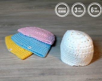 Baby beanie baby crochet beanie baby boy beanie baby girl beanie baby gift baby shower gift baby hat newborn hat baby crochet hat