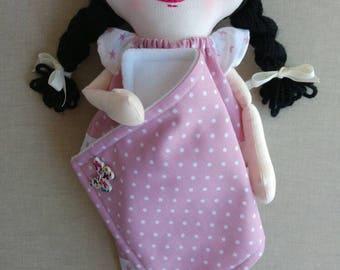 Sophie, rag doll, cloth doll, fabric doll, hand made doll, homemade doll, art doll, soft doll, OOAK rag doll, OOAK cloth doll, OOAK doll