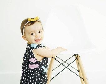 Baby Girl Romper - Girls Romper - Baby Girl Clothes - Handmade - Baby Gift - Toddler Romper - Baby Shower Gift - Baby Romper for Girls