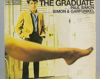 The Graduate - Paul Simon - Simon & Garfunkel 1968 Original Movie Sound track Recording Vintage Vinyl Record Album