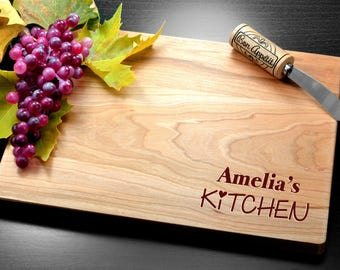 Cutting board, Personalized, Engraved, Custom cutting board, Personalized bamboo gift, Wedding bamboo gifts, Housewarming, Mother's day gift