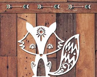 Fox Decal | Yeti Decal | Yeti Sticker | Tumbler Decal | Car Decal | Vinyl Decal