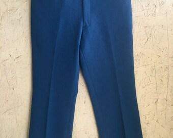 Vintage 60s 70s Men's Bell Bottoms Pants Beau Legs by Curlee DEADSTOCK