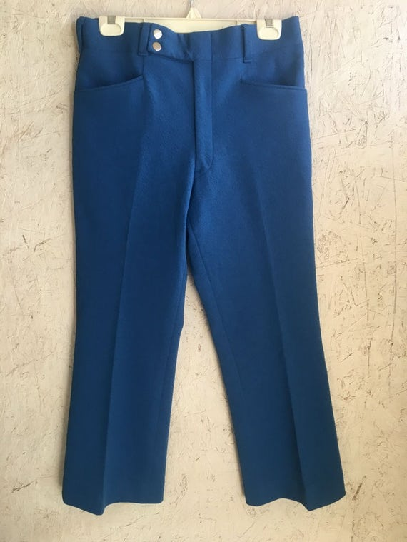 Vintage 60s 70s Men's Bell Bottoms Pants Beau Legs by Curlee DEADSTOCK