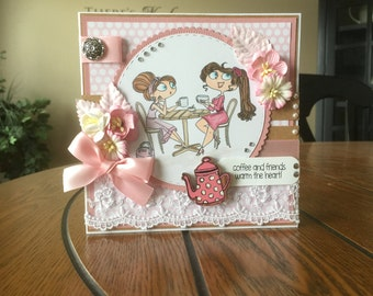 Any Occasion/Friend Handmade Greeting Card