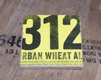 UPcycled Coaster - Goose Island - 312 Urban Wheat Ale