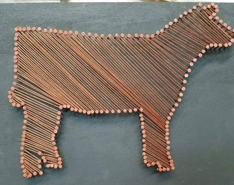 Heifer/Steer/Cow String Art