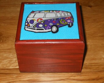 VW Campervan gift/box /jewellery/trinket/keepsake/storage box