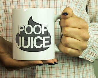Funny Mug For Dad - Coffee Poop Mug - Poop mug gift -Try this poop mug gift idea! Get it now with money back guarantee