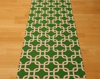 15x72 Green Gotcha Table Runner-St. Patricks Day Runner