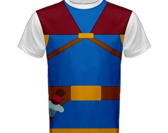 Men's Snow White Prince Snow White and the Seven Dwarfs Inspired ATHLETIC Shirt