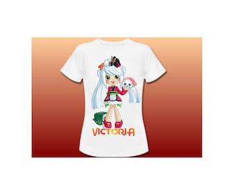 transfer SHOPKINS sushi - Clipart - DIY Shirt... iron on transfer - digital printable digital