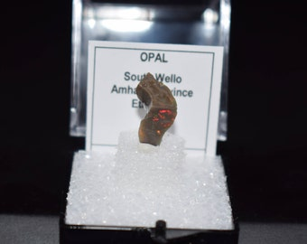 Opal, Opal Crystal, South Welo Opal, Ethiopia Crystal, Natural Crystal, Raw Crystal, Thumbnail Crystal, Crystal Specime