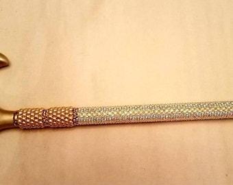 Swarovski Pearls and Crystal Shimmer Walking Cane