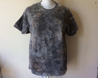 Men's Post Apocalyptic Painted Wastelander Wasteland Cotton Short Sleeve Nuclear Slime T-Shirt Apocalyptic Costume Cosplay Wasteland Shirt