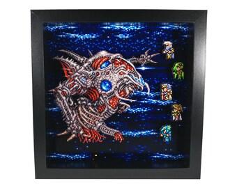 Final Fantasy IV (SNES) Zeromus Final Battle Shadow Box