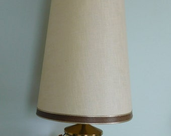 Mid Century Round Sphere Wood Slat Table Lamp, Modern Lamp