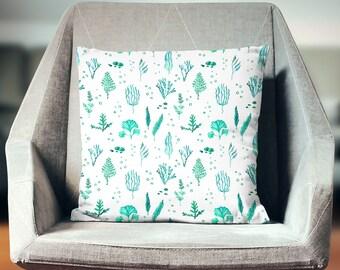Aqua Pillow | Aqua Pillow Case | Aqua Throw Pillow | Aqua Pillow Cover | Aqua Cushion | Aqua Decoration | Aqua Décor