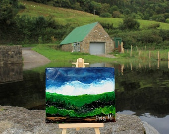 Lovely Lietrim - Little Wax Easel Paintings