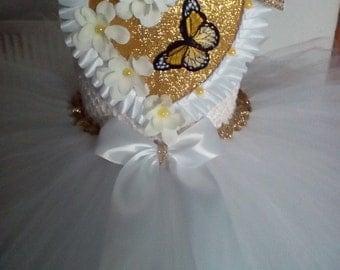 Butterfly tutu dress