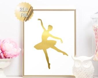 Ballet Wall Art ballerina wall decor | etsy