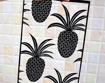 Paper Cut Pineapple Art Decor