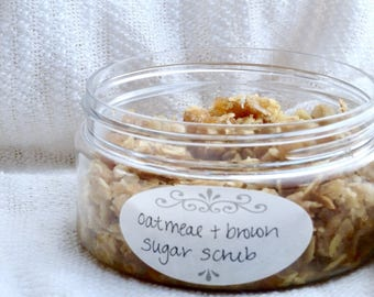 Oatmeal & Brown Sugar Scrub - Exfoliating and Soothing (Reiki Charged)