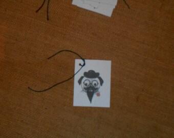 Dog Tags - Incognito Dog, Gift Tags