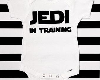 Funny Jedi Baby Onesie / Star Wars Onesie / Funny Baby Onesie / Funny Baby Bodysuit / Baby Shower Gift / Star Wars Baby / Newborn Baby