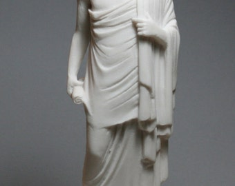 Greek Philosopher SOCRATES Alabaster Statue Sculpture Figure 9.45in - 24cm **Free Shipping & Free Tracking Number**