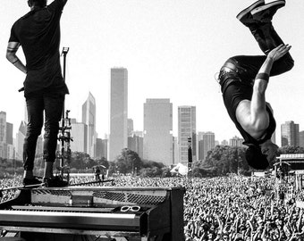 Tyler and Josh Backflip poster 17x11 inches