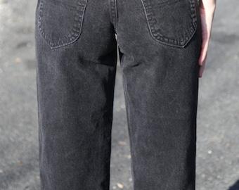 Black Lee Rider Jeans- Size 26 Waist