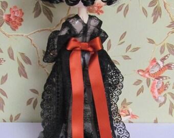 FREE SHIPPING Kimono Lace Pullip