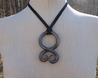 Smooth Troll Cross / Trollkors Necklace