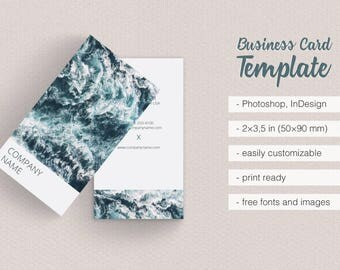 Asian Dream Business Card Template Simple and Clean Design Vertical Best Photographer