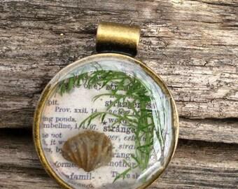 Shell Fossil Pendant