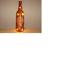 Brewworks  recycled beer bottle light